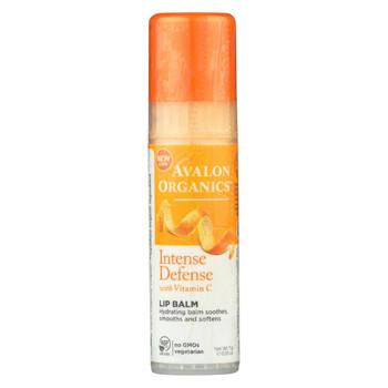 Avalon Organics Vitamin C Soothing Lip Balm - Case of 16 - .25 oz