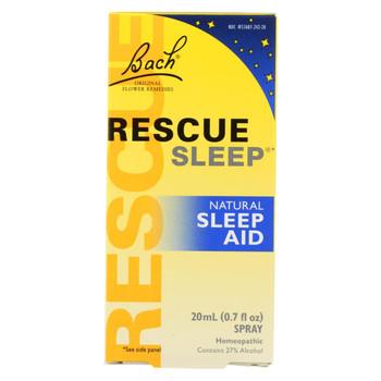 Bach Flower Remedies Rescue Sleep Natural Sleep Aid - 0.7 fl oz