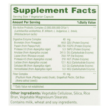 American Health - Enzyme Probiotic Complex - 90 Vegetarian Capsules
