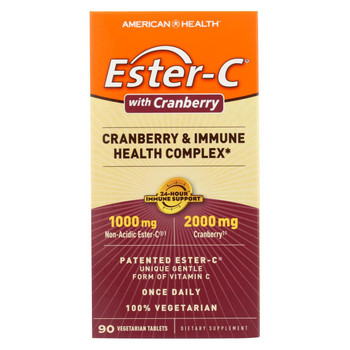 American Health - Ester-C Urinary Tract Formula - 90 Vegetarian Tablets