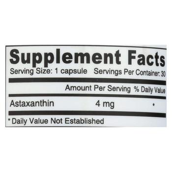 Deva Vegan Astaxanthin Super Antioxidant - 4 mg - 30 Capsules