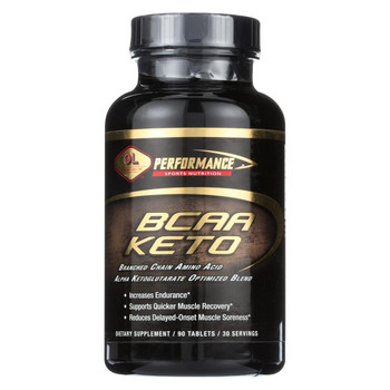Olympian Labs BCAA Keto 3 to 1 - 90 Tablets