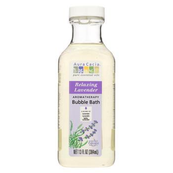 Aura Cacia - Aromatherapy Bubble Bath Relaxing Lavender - 13 fl oz