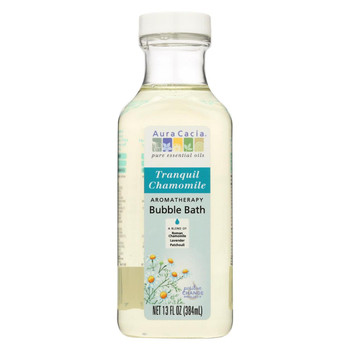 Aura Cacia - Aromatherapy Bubble Bath Tranquil Chamomile - 13 fl oz