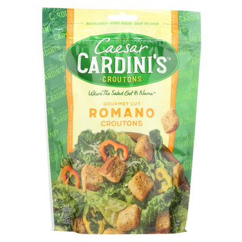 Cardini's - Croutons Romano Cheese - Case of 12-5 oz