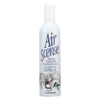 Air Scense Air Freshener - Vanilla - Case of 4 - 7 oz
