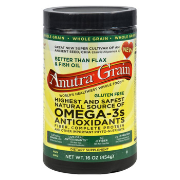 Anutra Omega 3 Antioxidants Fiber and Complete Protein Whole Grain - 16 oz