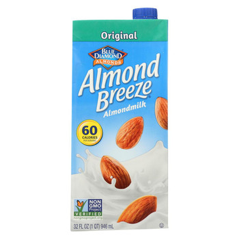 Almond Breeze Almond Milk - Original - Case of 12 - 32 fl oz