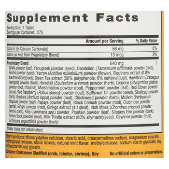 Nature's Secret Multi-Herb Digestion and Detox Support - 275 Tablets