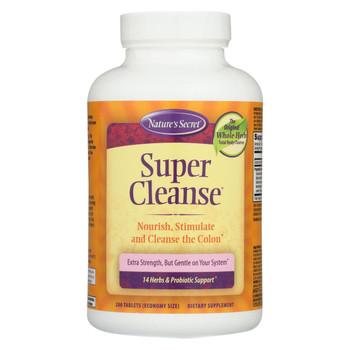 Nature's Secret Super Cleanse - 200 Tablets