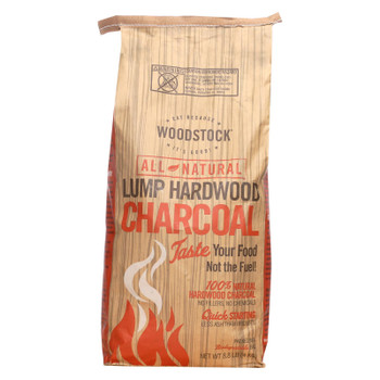 Woodstock Charcoal - All Natural - Lump Hardwood - Natural - 8.8 lb - 1 each