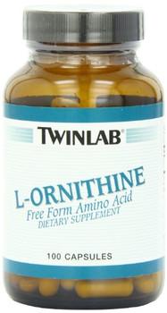 Twinlab L-Ornithine - 500 mg - 100 Capsules
