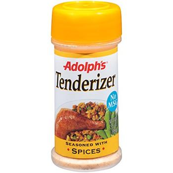 Adolphs - Meat Tenderizer - Seasoned - Case of 12 - 3.5 oz