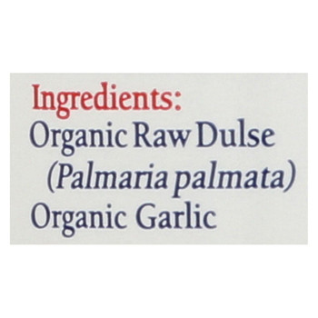 Maine Coast Organic Sea Seasonings - Dulse Granules with Garlic - 1.5 oz Shaker