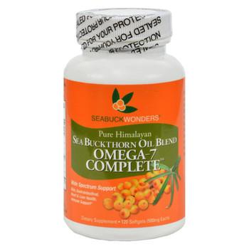 Seabuck Wonders Sea Buckthorn Oil Blend - 500 mg - 120 Softgels