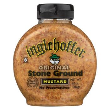 Inglehoffer - Mustard - Original Stone Ground - Case of 6 - 10 oz.