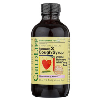 Childlife Formula 3 Cough Syrup Natural Berry - 4 fl oz