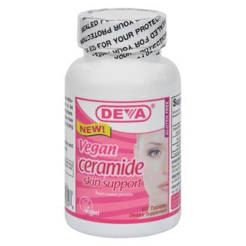 Deva Vegan Ceramide Skin Support - 60 Tablets