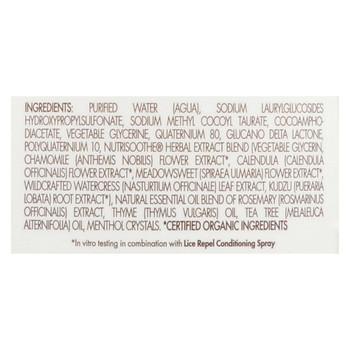 Babo Botanicals - Lice Repellent Shampoo - 8 fl oz