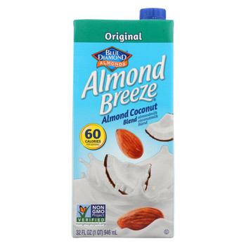 Almond Breeze Almond Milk Almond Coconut - Case of 12 - 32 fl oz.