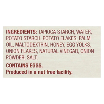 Absolutely Gluten Free Crackers - Toasted Onion - Case of 12 - 4.4 oz.