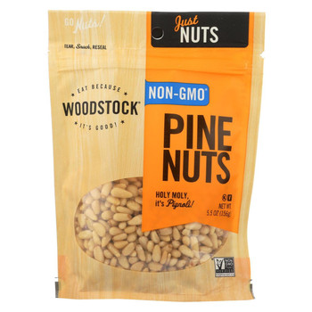 Woodstock Pine Nuts - Case of 8 - 5.5 oz.