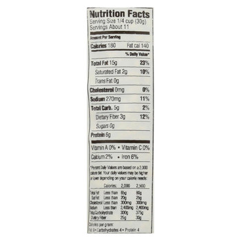 Woodstock Non-GMO Roasted and Salted Sunflower Seeds - Case of 8 - 12 OZ