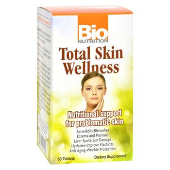 Bio Nutrition Total Skin Wellness - 60 Tablets