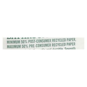 Seventh Generation Bathroom Tissue - 1 ply 1000 sheet roll - Case of 60