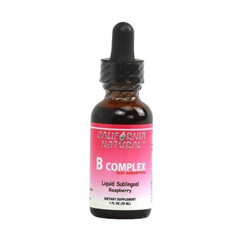 California Natural Natural B Complex Sublingual Raspberry - 1 fl oz