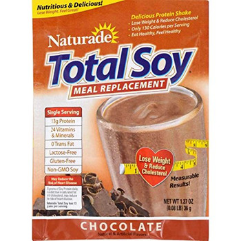 Naturade Total Soy Chocolate Packet - Case of 25 - 1.27 oz
