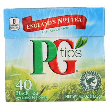 PG Tips Black Tea - Pyramid - 40 Bags