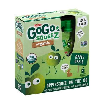 GoGo Squeeze Sauce - Apple - Case of 12 - 3.2 oz.