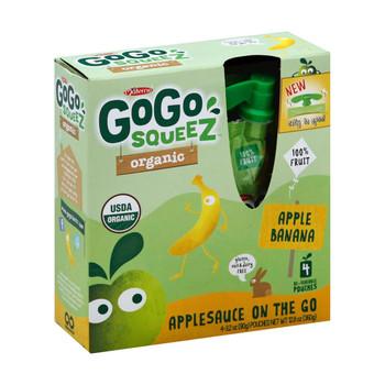GoGo Squeeze Applesauce - Apple banana - Case of 12 - 3.2 oz.