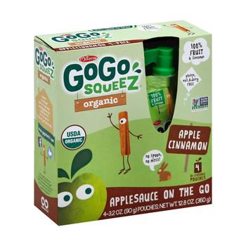 GoGo Squeeze Applesauce - Apple cinnamon - Case of 12 - 3.2 oz.
