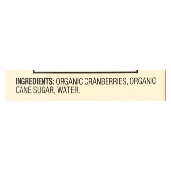 Pacific Natural Foods Sauce - Whole Berry Cranberry - Case of 12 - 15.6 oz.