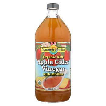 Dynamic Health Apple Cider Vinegar - Organic with Mother - 32 oz