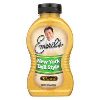 Emeril Mustard - New York Deli Style - 12 oz.