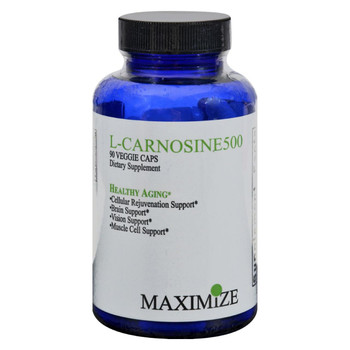 Maximum International L-Carnosine 500 - 90 Vcaps
