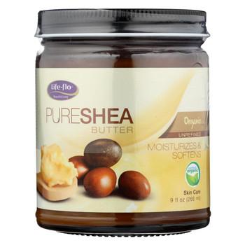 Life-Flo Pure Shea Butter Organic - 9 fl oz