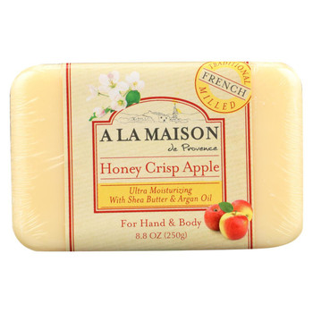A La Maison - Bar Soap - Honey Crisp Apple - 8.8 oz