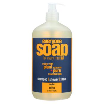 EO Products Everyone Soap - Men Cedar and Citrus - 32 oz