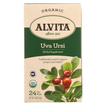 Alvita Teas Organic Uva Ursi Tea Bags - 24 Bags