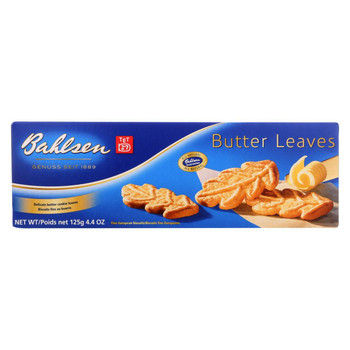 Bahlsen Cookies - Butter Leaves - 4.4 oz - 1 each