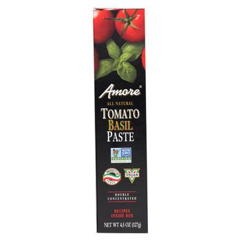 Amore - Tomato Basil Paste - Case of 12 - 4.5 oz