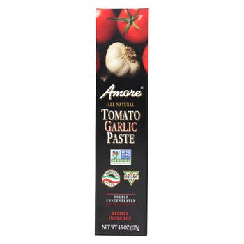 Amore Tomato Garlic Paste - Case of 12 - 4.5 oz