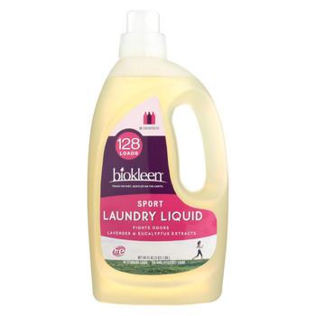 Biokleen Laundry Liquid - Sport - 64 oz