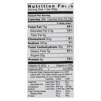 Probar Bar Organic Superberry Bar - Case of 12 - 3 oz
