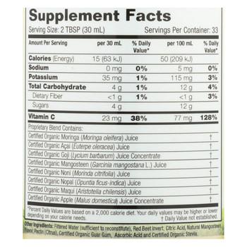 Dynamic Health Juice - Organic Moringa - 33.8 fl oz