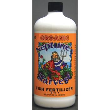 Neptune's Harvest Fish Fertilzer - Orange Label - 36 oz